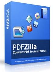 نرم افزار تبدیل فایل های پی دی اف (برای ویندوز) - PDFZilla 3.9.0 Windows