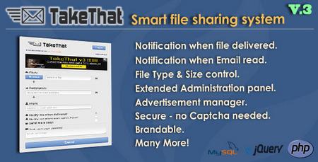 اسکریپت اشتراک گذاری فایل TakeThat v.3