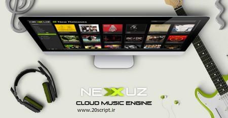 اسکریپت ایجاد سایت موسیقی آنلاین Nexxuz