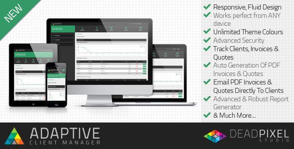 اسکریپت مدیریت صورت حساب Adaptive Client Manager v1.2