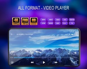 نرم افزار اندروید پخش ویدیو با کیفیت 4k
