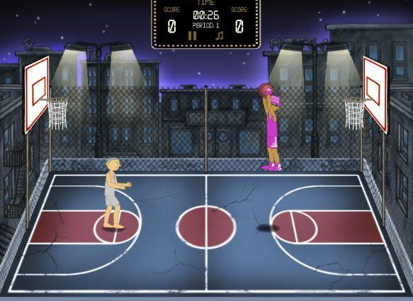 بازی انلاین بسکتبال