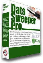نرم افزار حذف کامل فایل ها (بدون امکان بازیابی) - Data Sweeper Pro 3.7