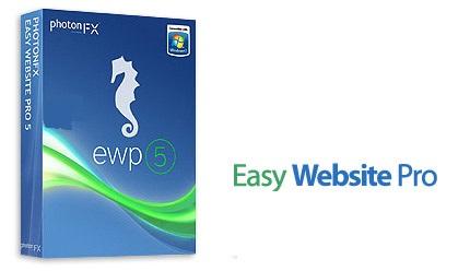 نرم افزار طراحی سریع و آسان وب سایت - Easy Website Pro Unlimited v5