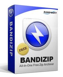 نرم افزار سریع فشرده سازی فایل ها (برای ویندوز) - Bandizip 6.07 Windows