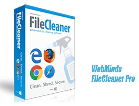 دانلود WebMinds FileCleaner Pro 4.9.0 Build 332 حذف کننده فایل های نامطلوب از ویندوز