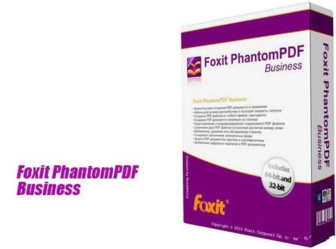 ویرایش آسان پی دی اف Foxit PhantomPDF Business 9.6.0.25114