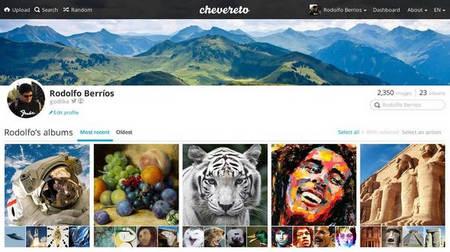 اسکریپت آپلودسنتر تصاویر Chevereto نسخه 3.10.14