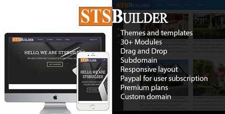 دانلود اسکریپت STSBuilder 2.0 – سایت ساز و ساب دومین دهی