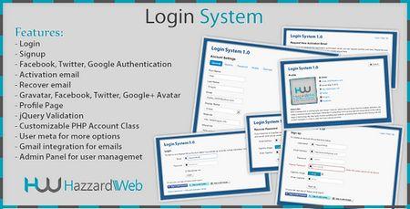 اسکریپت مدیریت کاربران Account System Multi-Feature