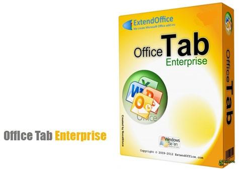 ایجاد تب و برگه در آفیس Office Tab Enterprise 14.0