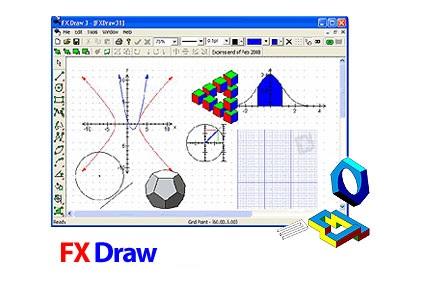 دانلود FX Draw v6.003.11 - نرم افزار رسم نمودار و اشکال هندسی