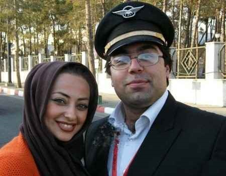 جدیدترین عکس نفیسه روشن در کنار همسرش