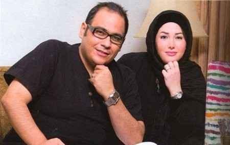 عکس رضا داود نژاد و همسرش
