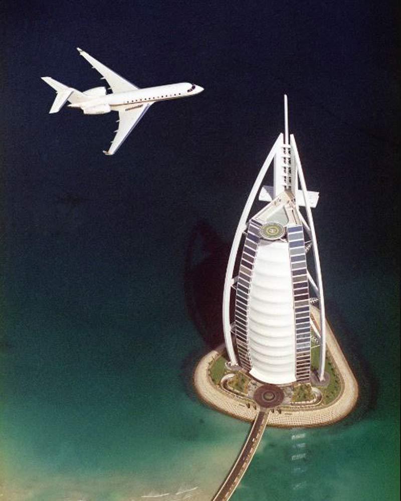 عکس های باورنکردنی از تغییرات شهر دبی و تبدیل شدن به شهری بزرگ