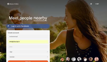 اسکریپت جامعه مجازی دوستیابی MatchMe نسخه 3.2
