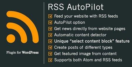افزونه خبرخوان اتوماتیک وردپرس RSS AutoPilot نسخه 1.5.0