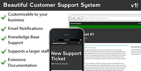 اسکریپت پشتیبانی مشتری و تیکت Beautiful Customer Support