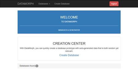 اسکریپت ساخت و مدیریت دیتابیس DataMorph Database