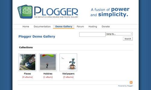 اسکریپت گالری تصاویر Plogger