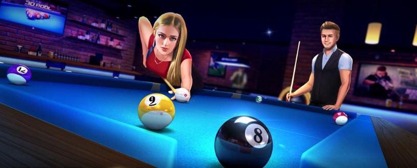 بازی بیلیارد سه بعدی و آفلاین (3D Pool Ball) برای اندروید