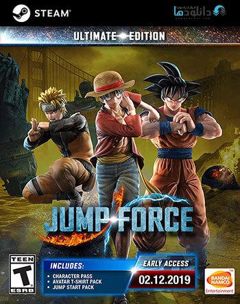دانلود بازی JUMP FORCE + Katsuki Bakugo DLC برای کامپیوتر