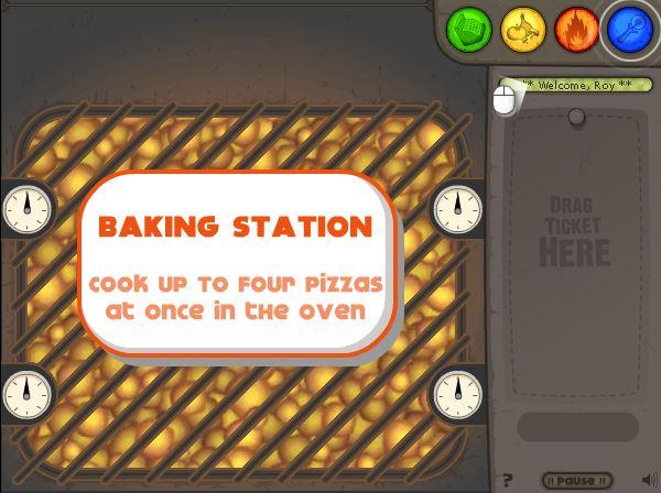 بازی آنلاین پیتزا قارچ