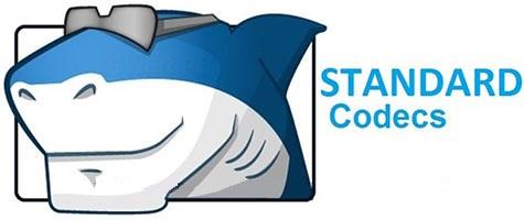 مجموعه کدک برای پخش فرمت های صوتی و تصویری (برای ویندوز) - STANDARD Codecs 8.3.6 Windows