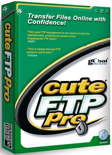 نرم افزار مدیریت انتقال فایل به سرور (اف تی پی) - CuteFTP Pro 9.0.5 Windows