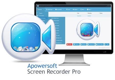 نرم افزار فیلمبرداری از صفحه دسکتاپ (برای ویندوز) - Apowersoft Screen Recorder Pro 2.4.1.0 Windows