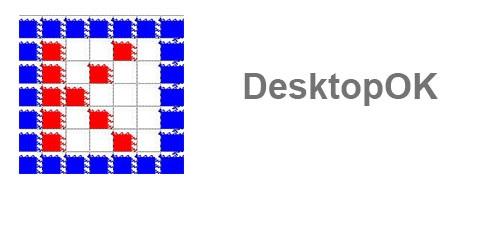 نرم افزار ذخیره و بازیابی وضعیت آیکون های دسکتاپ (برای ویندوز) - DesktopOK 6.45 Windows