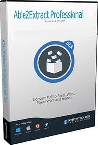 نرم افزار تبدیل فایل PDF به سایر فرمت ها (برای ویندوز) - Able2Extract Pro 14.0.8.0 Windows