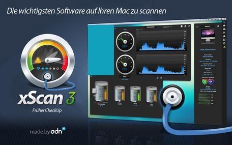 نرم افزار مدیریت و کنترل بر سیستم عامل مک - xScan 3.2 Mac