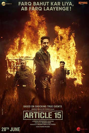 دانلود فیلم هندی ماده 15 قانون Article 15 2019