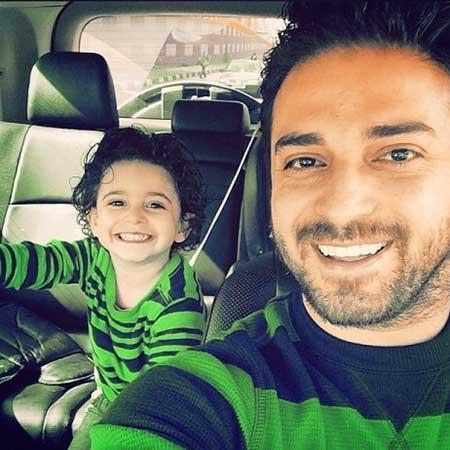 عکس خواننده های ایرانی و فرزندانشان