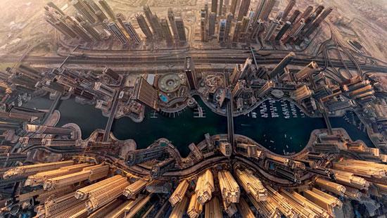 شهرها در تصاویر گرفته شده از فراز آسمان