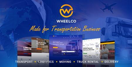 پوسته حمل و نقل و خدماتی Wheelco برای وردپرس