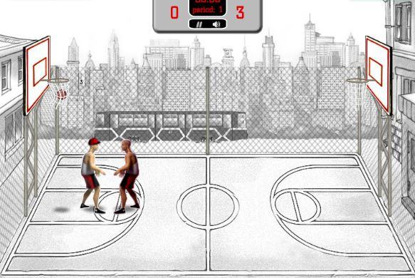 بازی آنلاین بسکتبال خیابانی