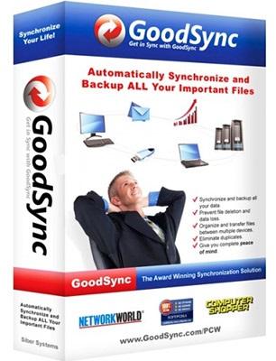 نرم افزار پشتیبان گیری و هماهنگ سازی فایل ها (برای ویندوز) - Goodsync Enterprise 10.10.8.8 Windows