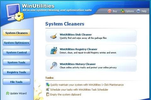 نرم افزار بهینه سازی و افزایش سرعت ویندوز - Win Utilities v10.44
