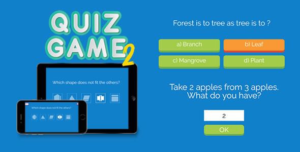 اسکریپت بازی آنلاین سوال و پاسخ Quiz Game 2