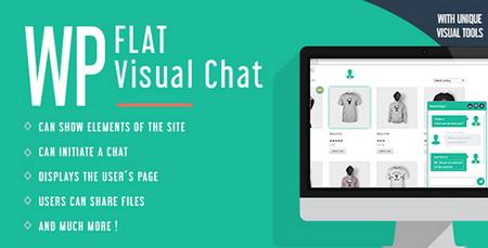 چت و پشتیبانی آنلاین در وردپرس با افزونه WP Flat Visual Chat