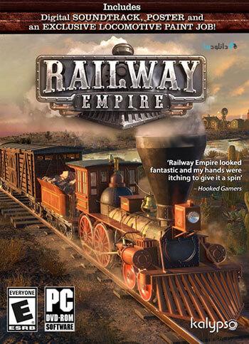 دانلود بازی Railway Empire France + Update v1.10 برای کامپیوتر
