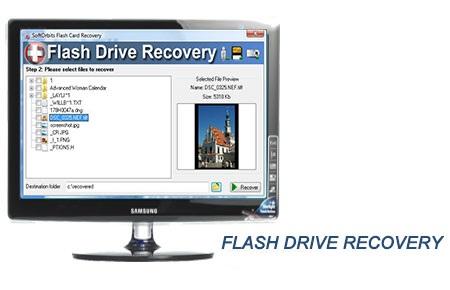 نرم افزار بازیابی فایلهای پاک شده Flash Drive Recovery 2.0