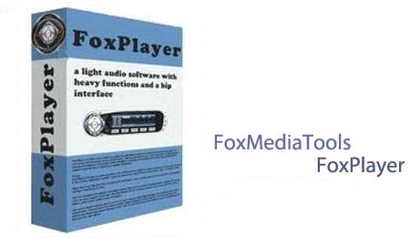 نرم افزار پخش کننده فایل های صوتی FoxMediaTools FoxPlayer 4.0.0