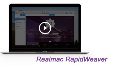 نرم افزار طراحی وب برای مک Realmac RapidWeaver 6.3.0 MacOSX