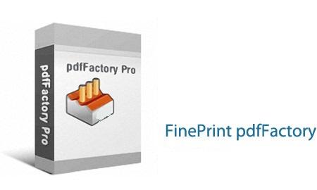 دانلود pdfFactory Pro 7.05 – نرم افزار ساخت فایل های پی دی اف