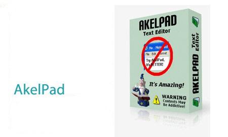نرم افزار ویرایشگر متن AkelPad 4.9.2