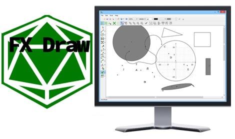 دانلود FX Draw Tools 19.10.31 + Portable – نرم افزار ترسیم اشکال هندسی