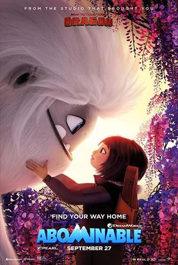 دانلود فیلم انیمیشن نفرتانگیز Abominable 2019